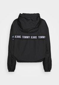 Tommy Jeans - YOKE TAPE  - Vindjakke - black - 1