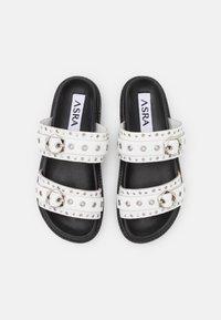 ASRA - SONA - Pantofle - white - 5