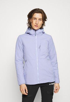Outdoorová bunda - foxglove violet