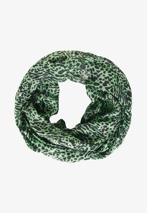 MIT ANIMAL PRINT-MIX - Snood - grün