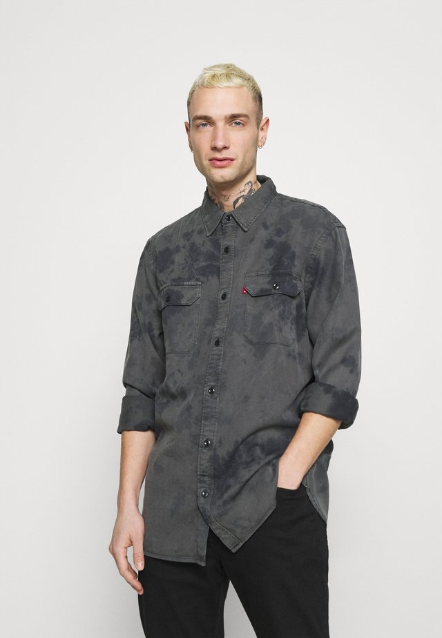 JACKSON WORKER UNISEX - Button-down blouse - blacks