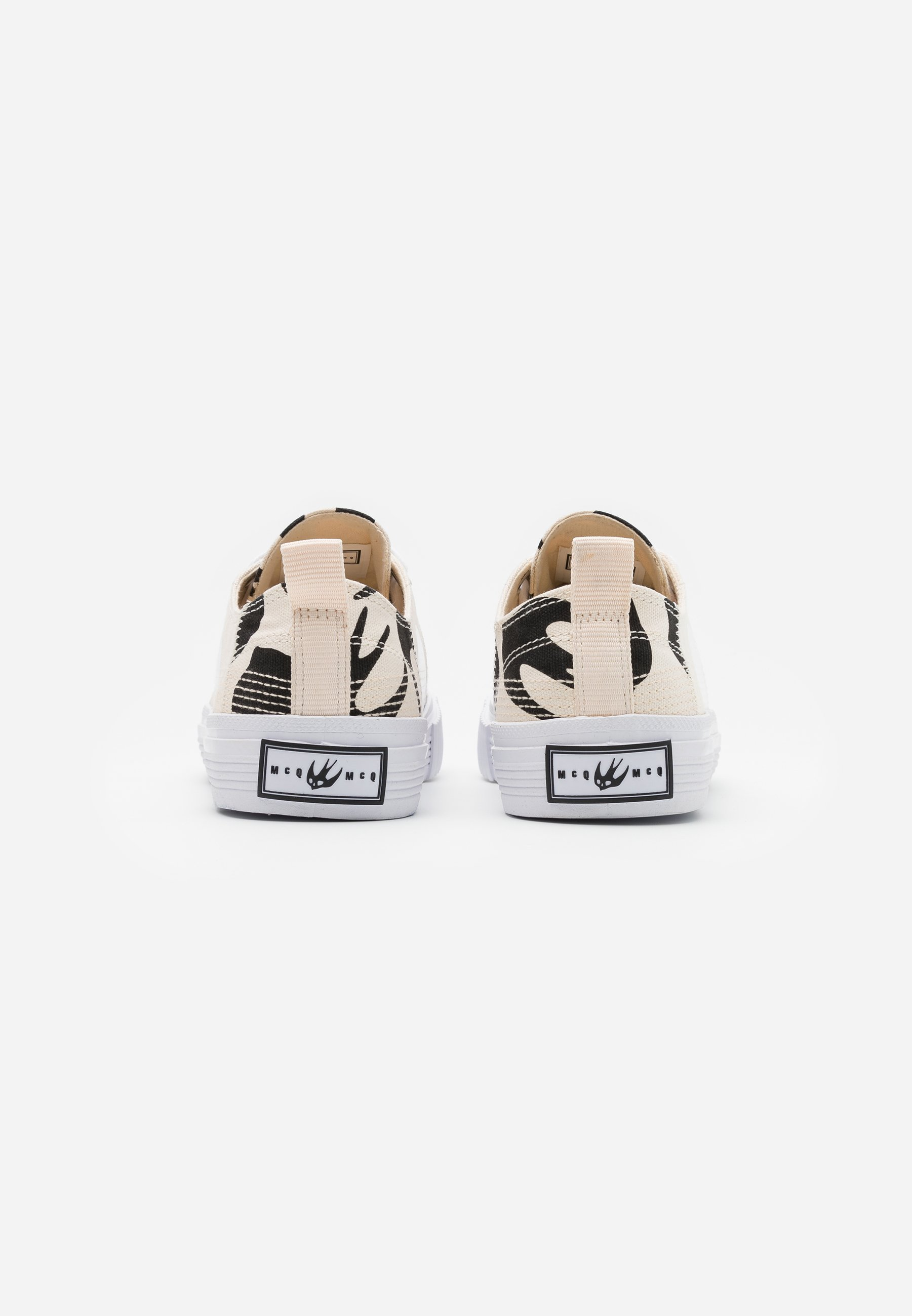 McQ Alexander McQueen SWALLOW CUT UP - Sneaker low - oyster/black/offwhite - Herrenschuhe xuedk