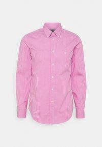 Lauren Ralph Lauren - LONG SLEEVE SHIRT - Formální košile - dark pink - 0