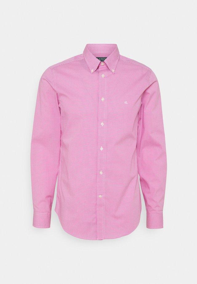 LONG SLEEVE SHIRT - Formal shirt - dark pink
