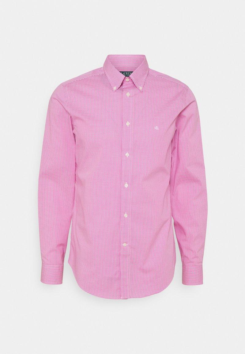 Lauren Ralph Lauren - LONG SLEEVE SHIRT - Formální košile - dark pink