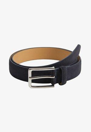 SUEDE - Belt - niebieski