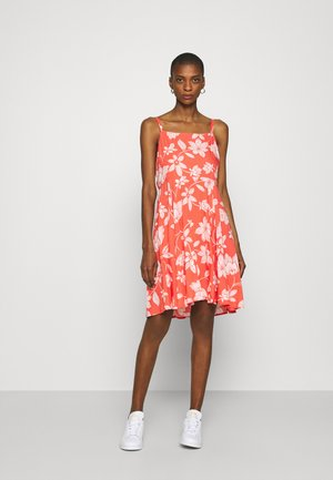 CAMI DRESS - Day dress - coral