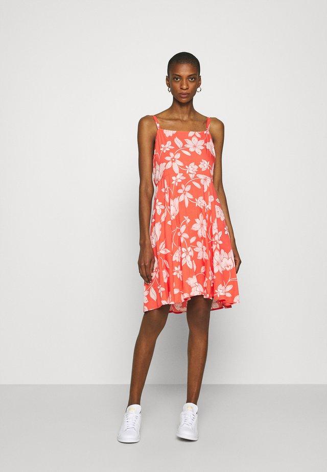 CAMI DRESS - Robe d'été - coral