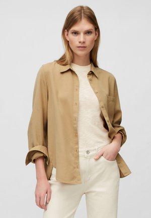Button-down blouse - sandy beach