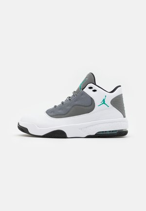 MAX AURA 2 - High-top trainers - white/black/neptune green/smoke grey