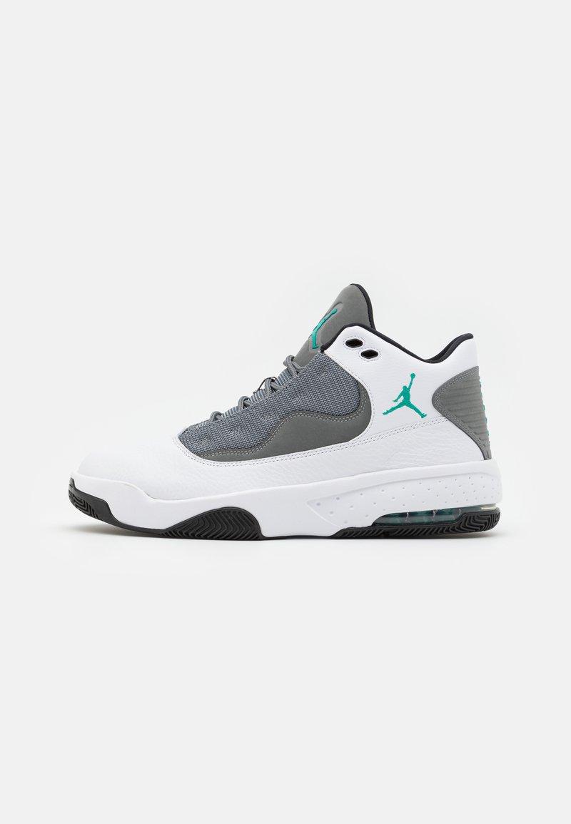 Jordan - MAX AURA 2 - Høye joggesko - white/black/neptune green/smoke grey