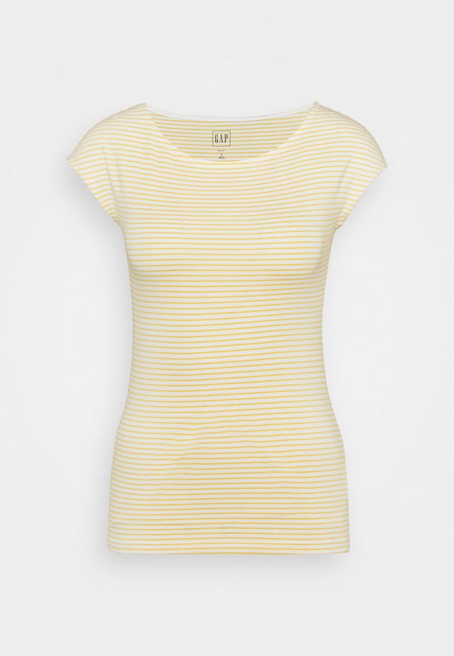 BATEAU - Print T-shirt - yellow