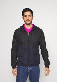 TOM TAILOR DENIM - CLEAN SUMMER JACKET - Summer jacket - black - 0