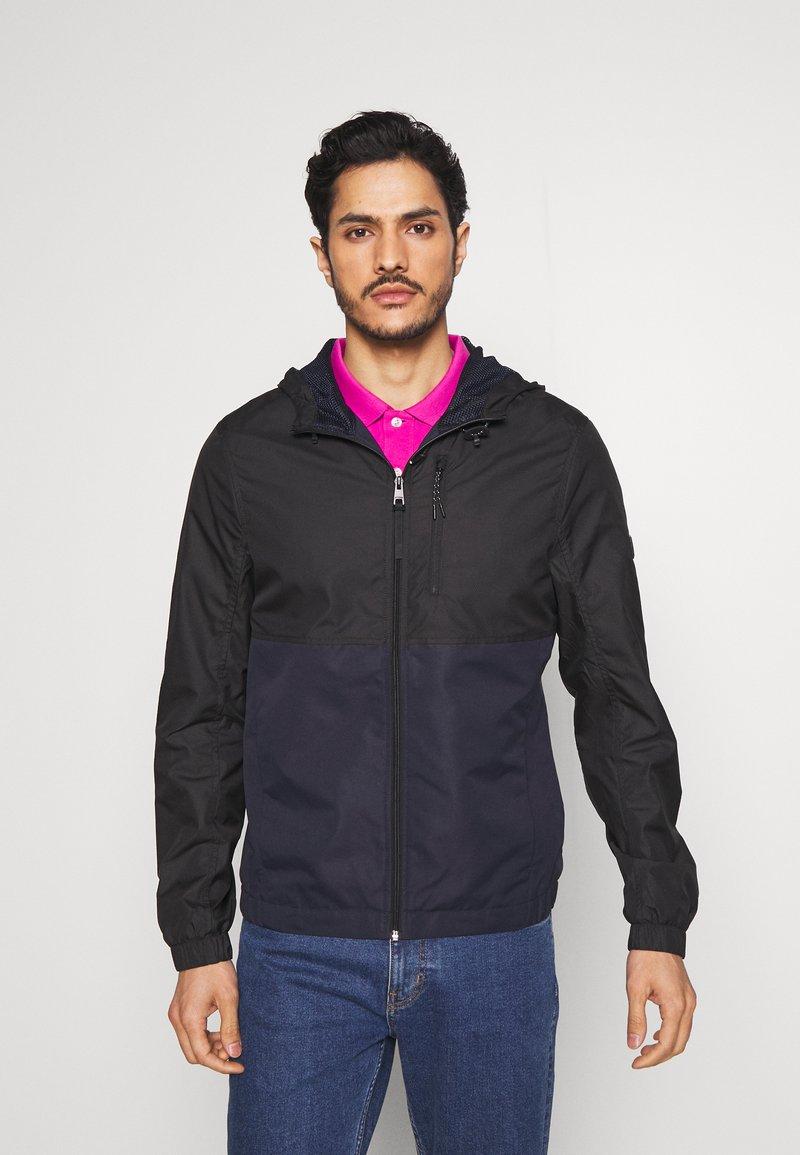 TOM TAILOR DENIM - CLEAN SUMMER JACKET - Summer jacket - black