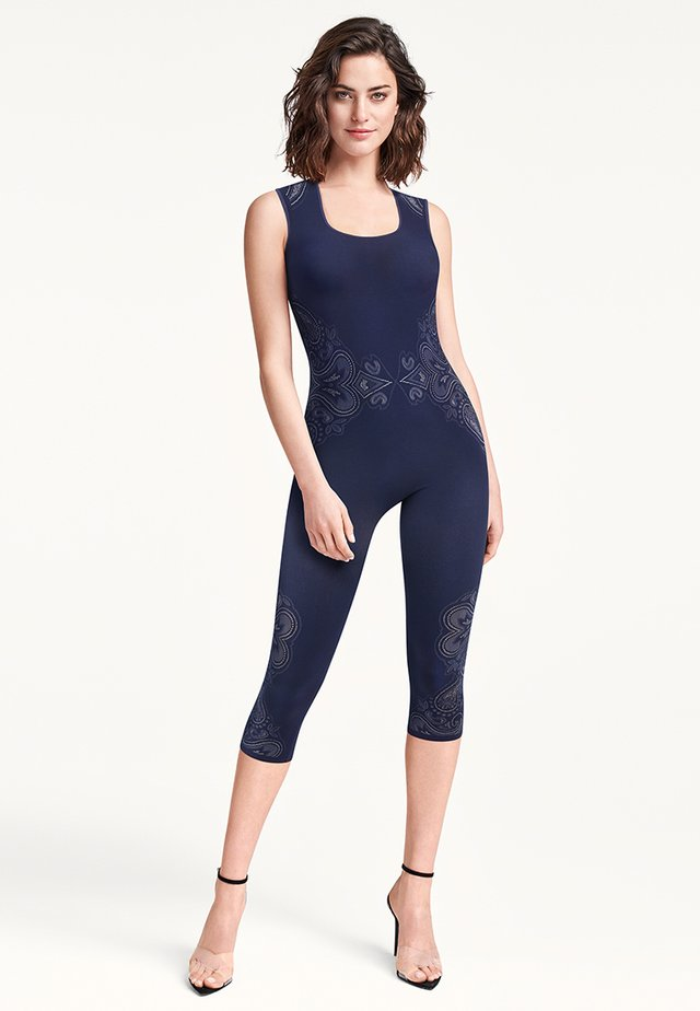 Jumpsuit - navy/white