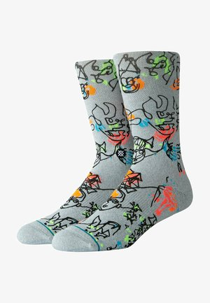 ELECTRIC  - Socks - heathergrey
