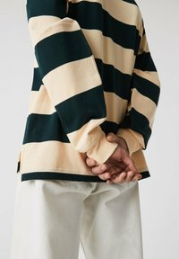 Lacoste - Polo shirt - beige / vert fonce / beige - 2