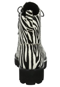 Tizian - BOSTON - Lace-up ankle boots - zebra - 3