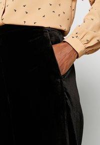 J.CREW TALL - PULL ON PEYTON - Trousers - black - 4