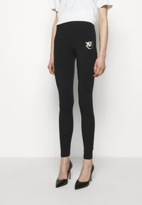 Pinko - BUONO STRETCH - Legíny - black - 3