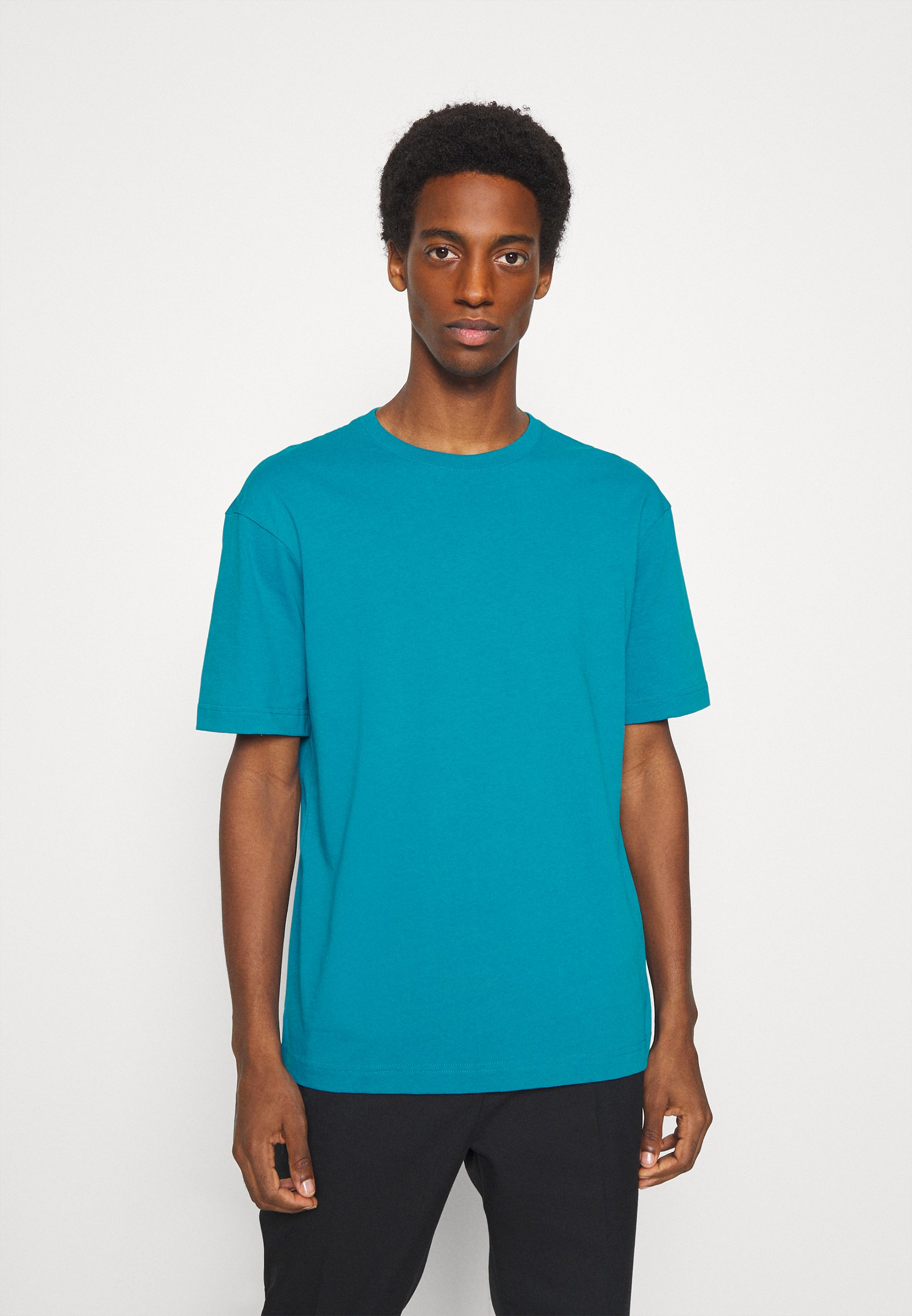 Herrer SLHLOOSEGILMAN O NECK TEE - T-shirts basic