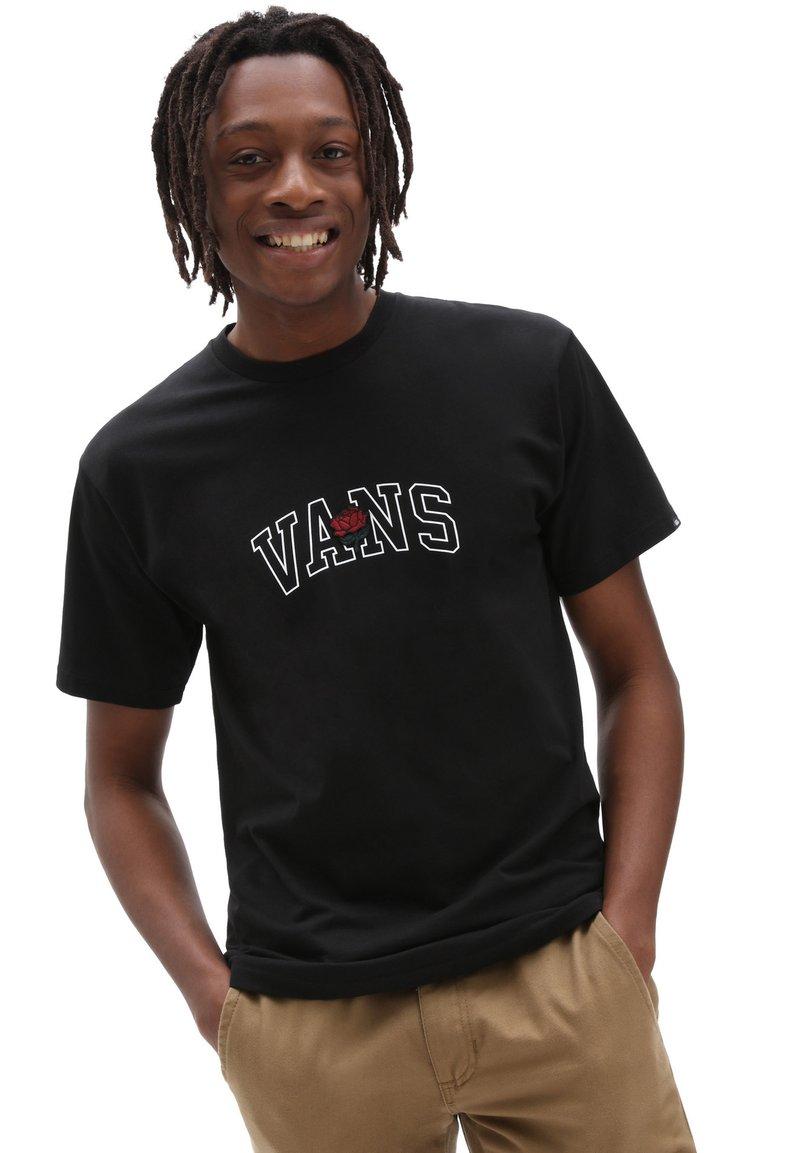 Vans - MN 66 CHAMPS SS - Print T-shirt - black