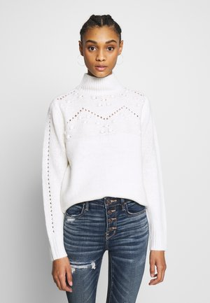 BOBBLEYOKE JUMPER - Strikkegenser - cream
