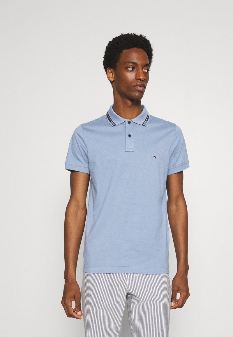 Tommy Hilfiger - COLLAR - Polo shirt - colorado indigo