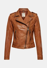 Esprit - Leather jacket - toffee - 8