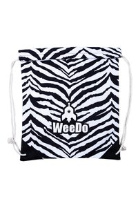 WeeDo - Drawstring sports bag - zebra white - 1