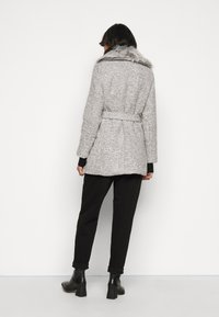 New Look Petite - COLLAR COAT - Kåpe / frakk - mid grey - 2