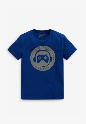 T-shirts print - blue-grey