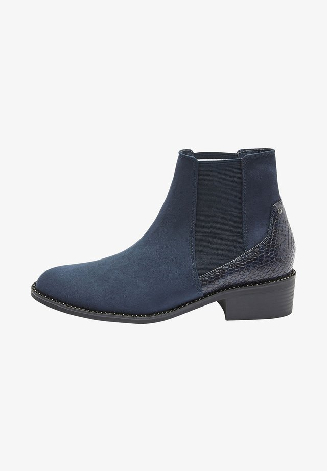 Ankle boot - blue