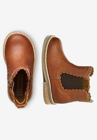 Next - CHELSEA SCALLOP  - Korte laarzen - brown - 1