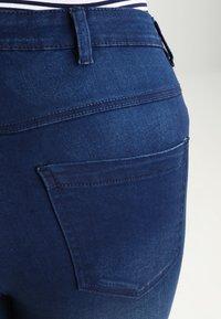 Zizzi - AMY LONG - Jeans Skinny Fit - blue denim - 4