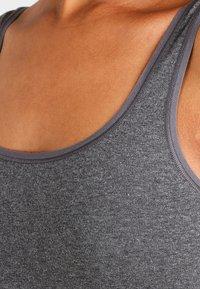 Skiny - ADVANTAGE 2 PACK - Undershirt - anthracite melange - 3