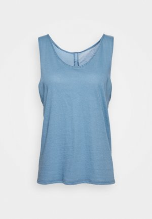 SLIT BACK TANK - Top - pewter