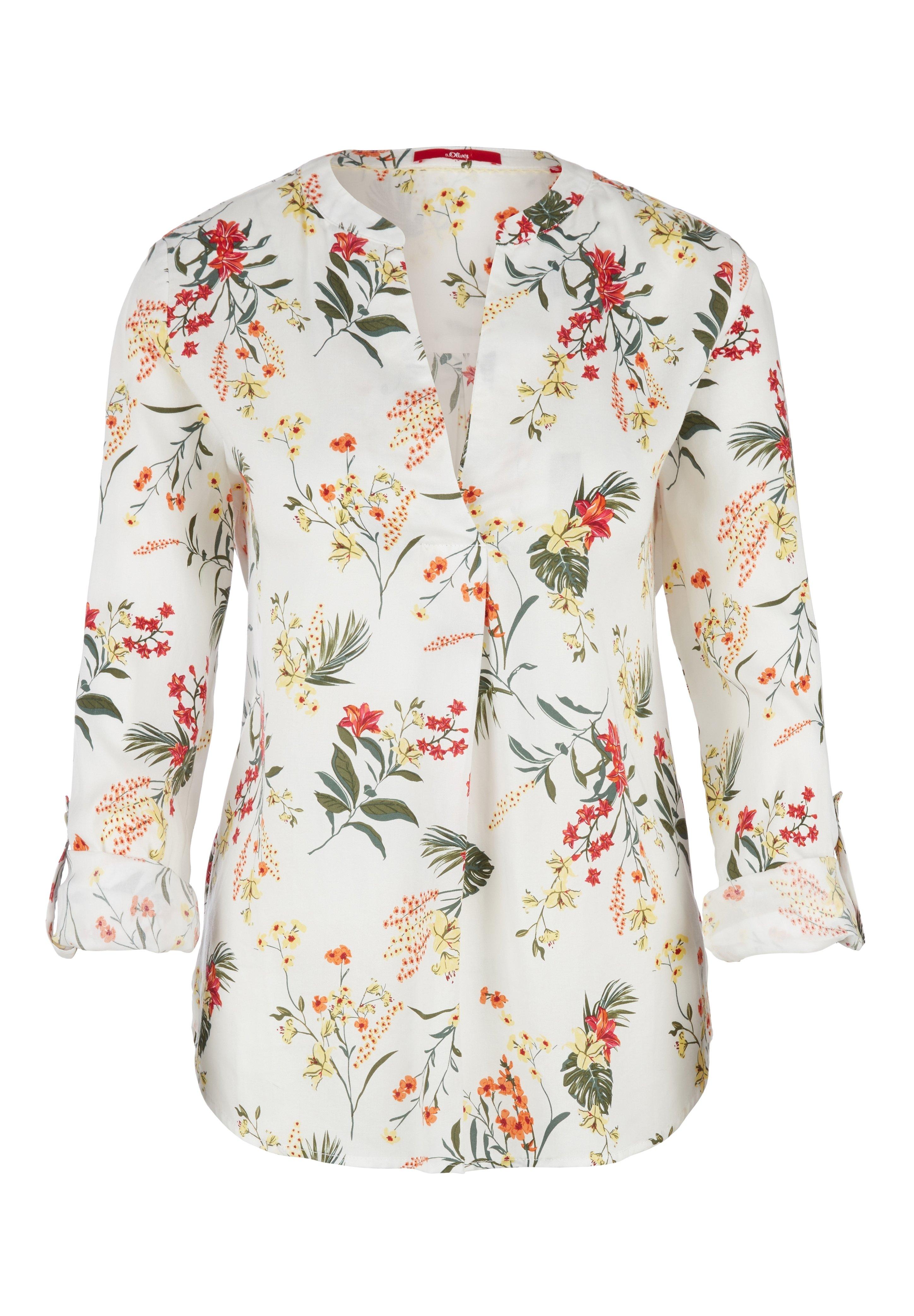Damen MIT TURN UP-ÄRMELN - Bluse