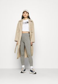 The North Face - ZUMU - Leggings - Trousers - medium grey heather - 1