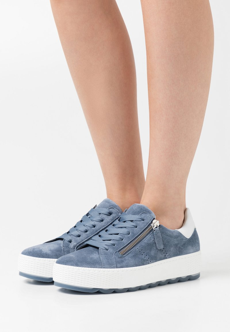 Gabor Comfort - Sneakers laag - nautic/weiß