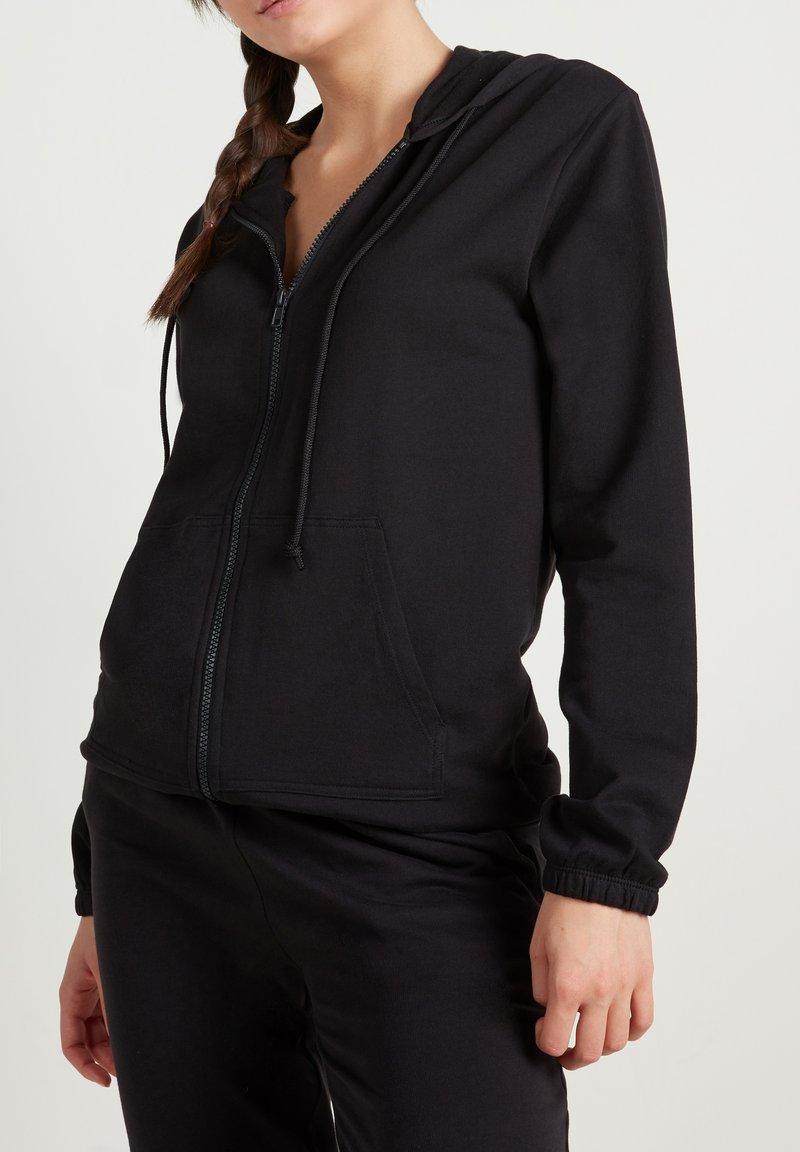 Tezenis - Zip-up sweatshirt - nero