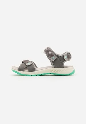 Walking sandals - grey