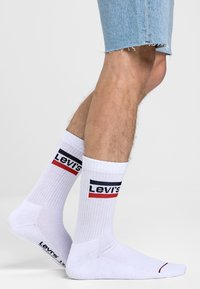 Levi's® - REGULAR CUT LOGO 3PACK - Socks - white - 0