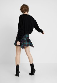 Diesel - O-BRYEL GONNA - Mini skirt - black - 2