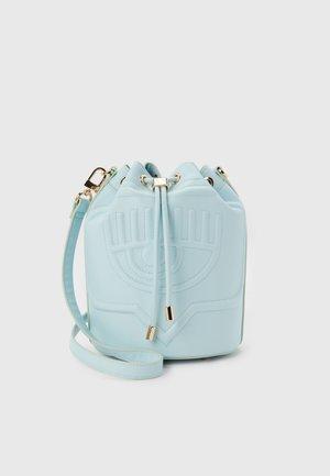 EYELIKE BAGS - Across body bag - baby blue