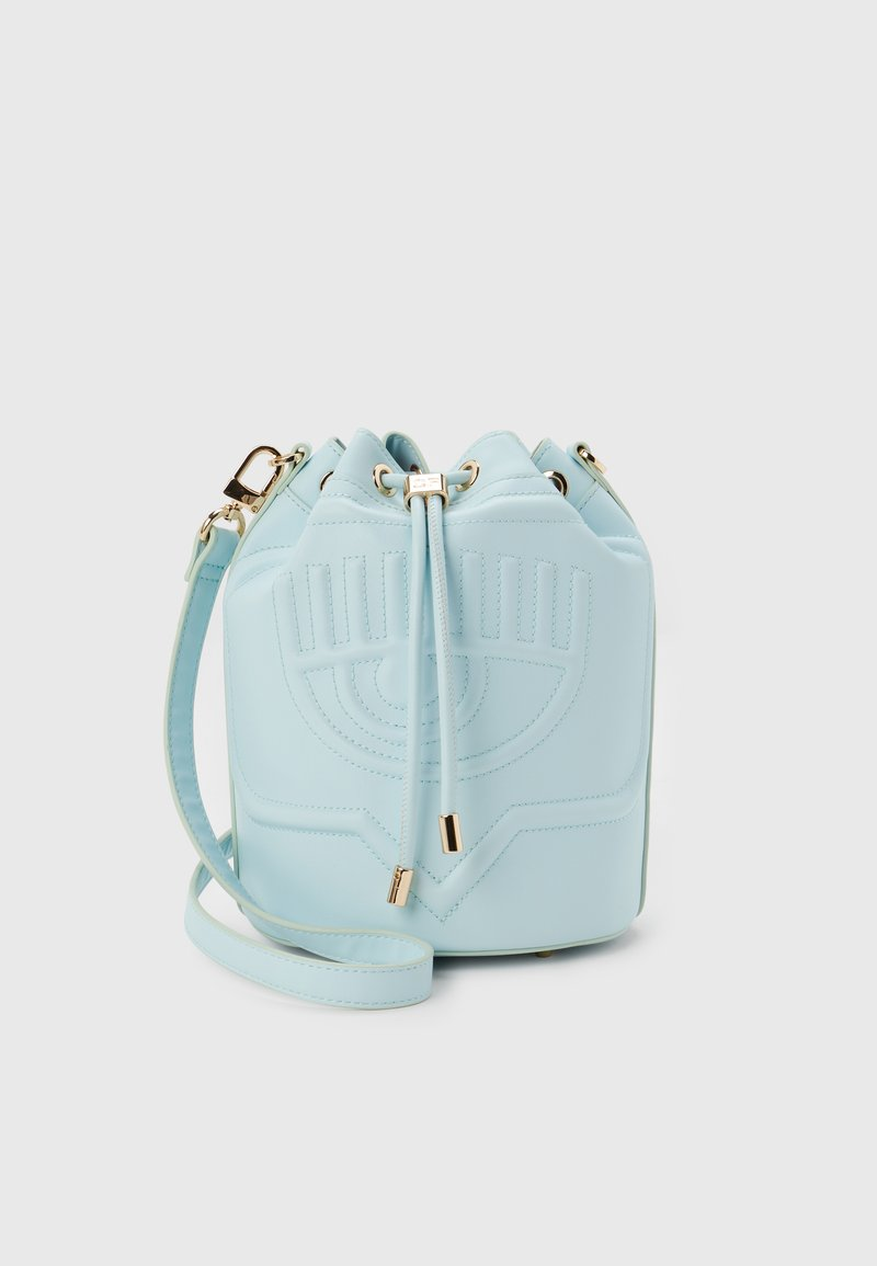 CHIARA FERRAGNI - EYELIKE BAGS - Across body bag - baby blue