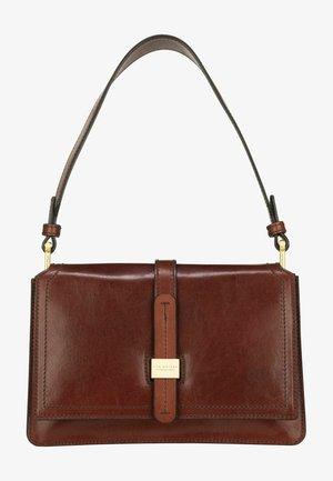 Handbag - marrone/oro