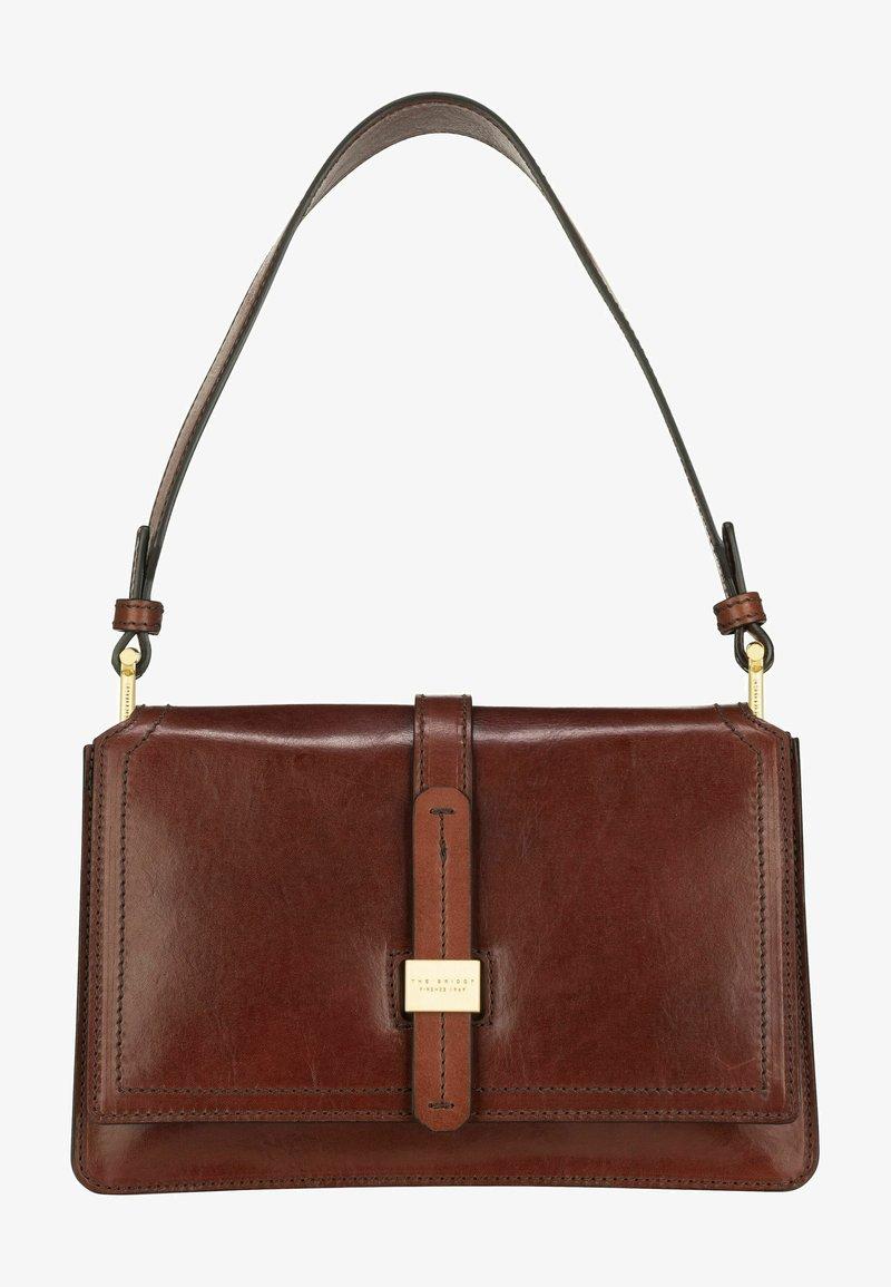 The Bridge - Handbag - marrone/oro
