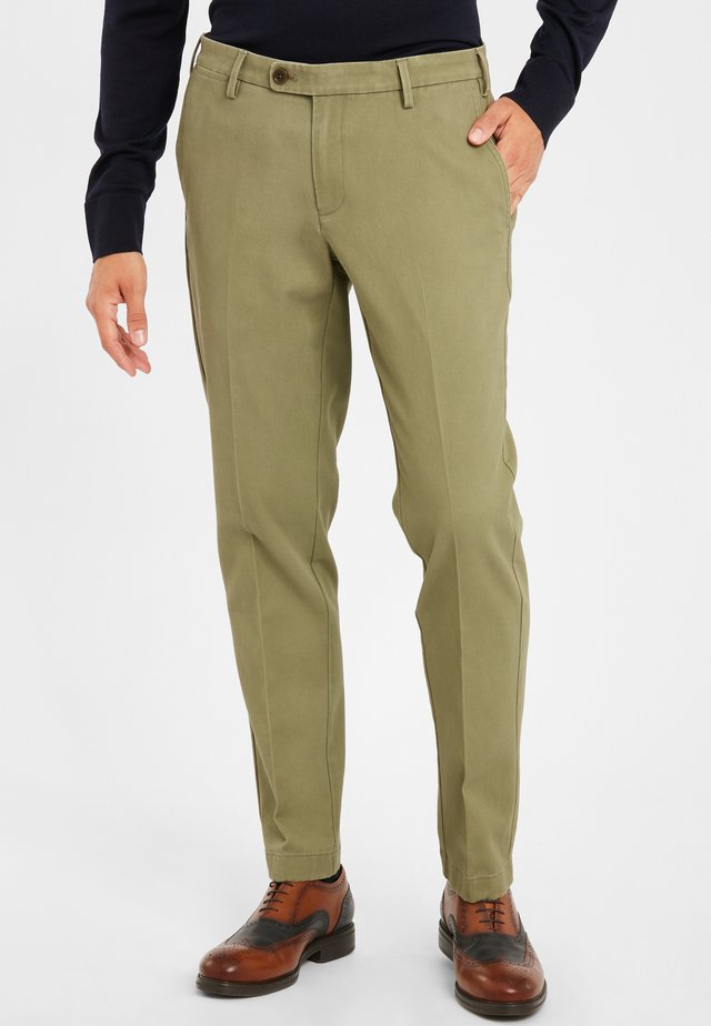 SOHO  - Trousers - medium green