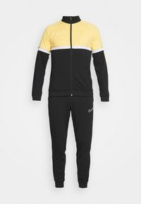 ACADEMY SUIT - Tracksuit - black/saturn gold/white